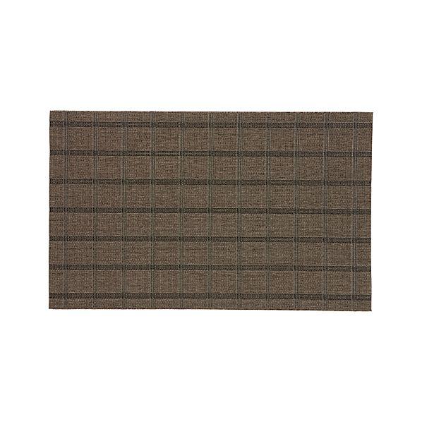 Butler Grid Indoor-Outdoor 5'x8' Rug