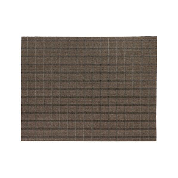 Butler Grid Indoor-Outdoor 9'x12' Rug