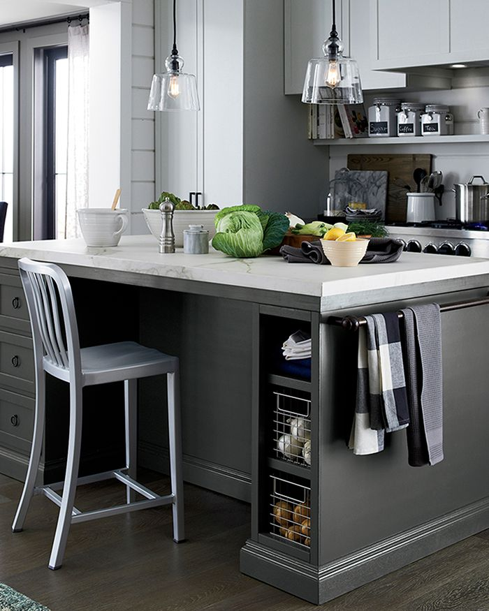 Kitchen Island Decorating Ideas Crate And Barrel