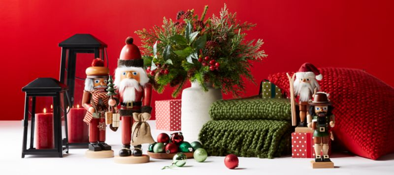 Christmas & Christmas Decorations for Home and Tree | Crate and Barrel