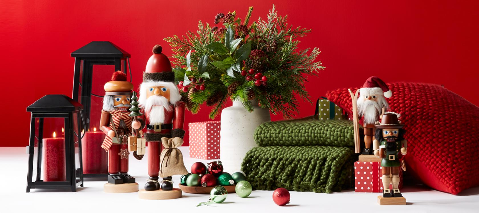 Christmas Decorations for Home and Tree | Crate and Barrel