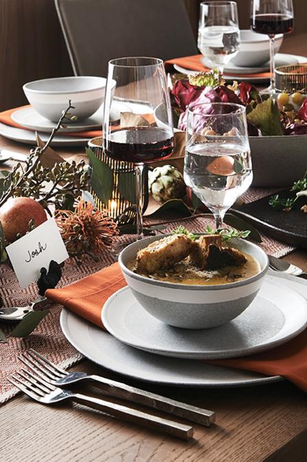 Thanksgiving Dinnerware Decorations Crate And Barrel - Thanksgiving-table-cloth