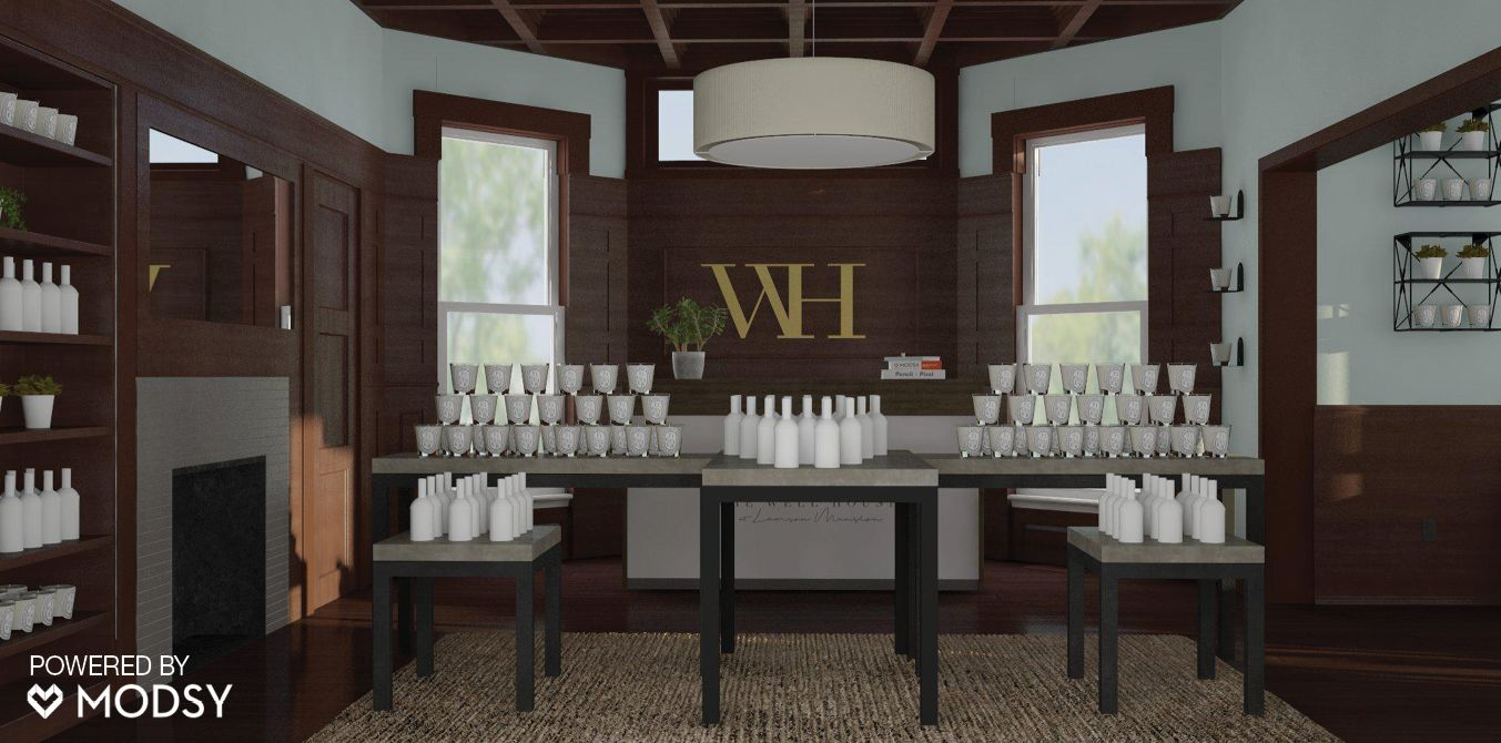 Digital renderings provide an accurate preview of your space