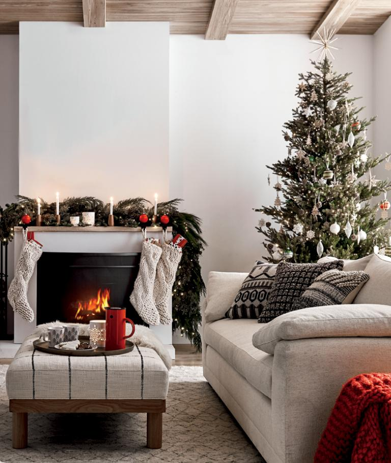 Christmas Decorations For Hearth Home Table Crate And