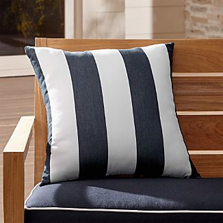 "Cabana Striped 20"" Sq. Outdoor Pillow"