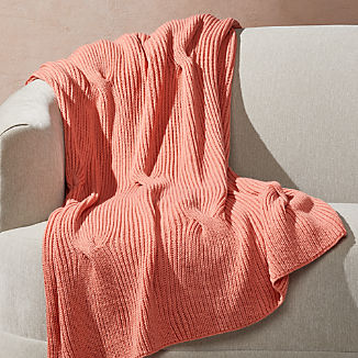 Canyon Cable Knit Throw
