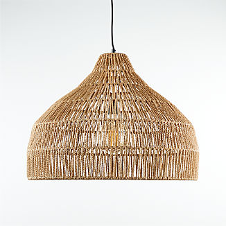 Cabo Large Woven Pendant Light