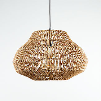 Cabo Small Woven Pendant Light
