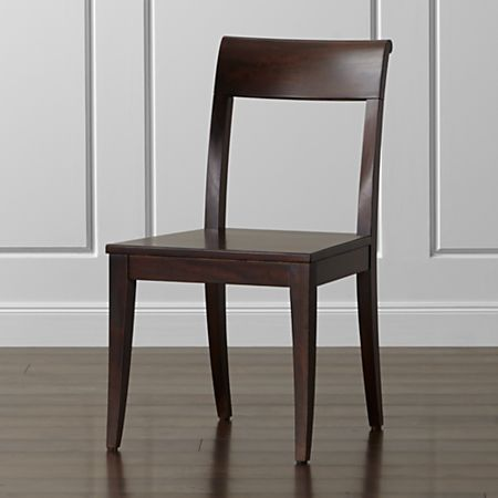 Super Cabria Dark Wood Dining Chair Onthecornerstone Fun Painted Chair Ideas Images Onthecornerstoneorg