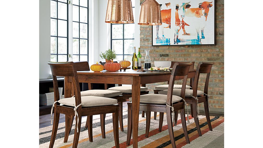 ... Cabria Honey Brown Extension Dining Table ...