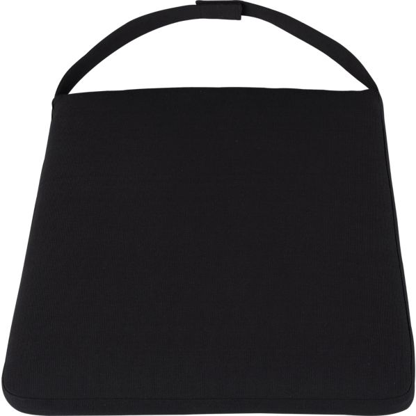 Black Cushion for Woven Side Chair