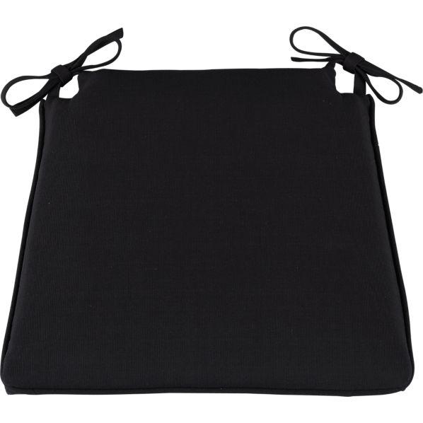 Cabria Black Cushion for Wood Chair