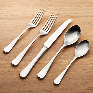 Caesna Satin 20-Piece Flatware Set