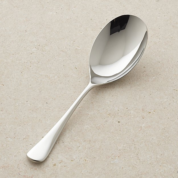 Caesna Mirror Wide Serving Spoon - Image 1 of 12