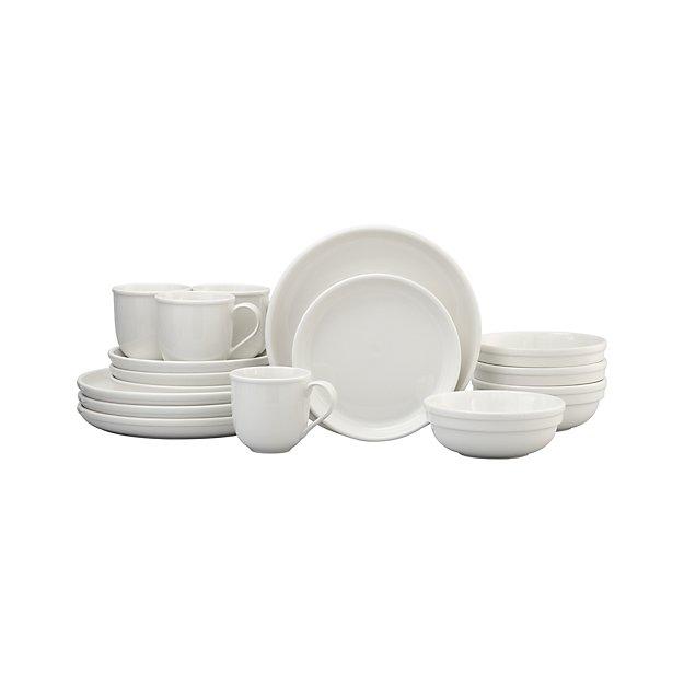 Cafeware II 16-Piece Dinnerware Set
