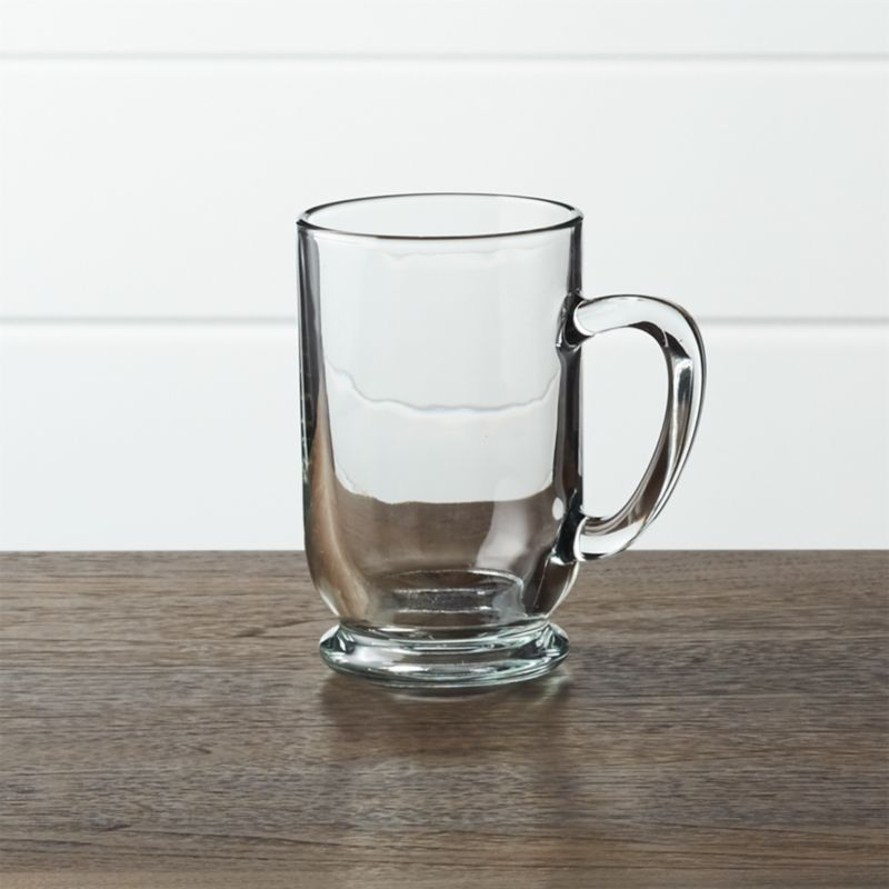 Barrel Glass Mugs