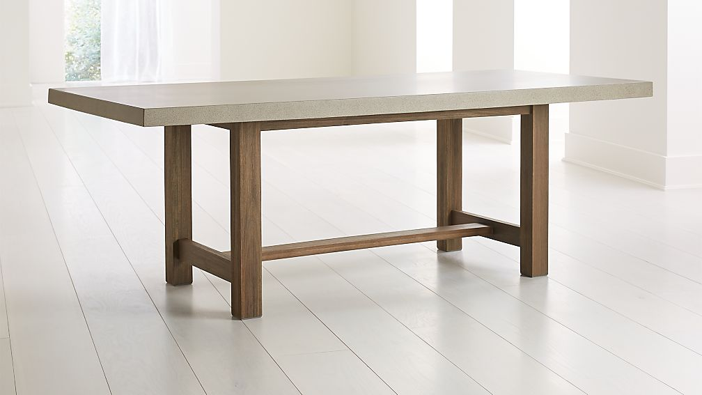 Caicos Cement Top Dining Table - Image 1 of 6