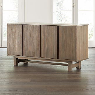 Caicos Cement Top Sideboard