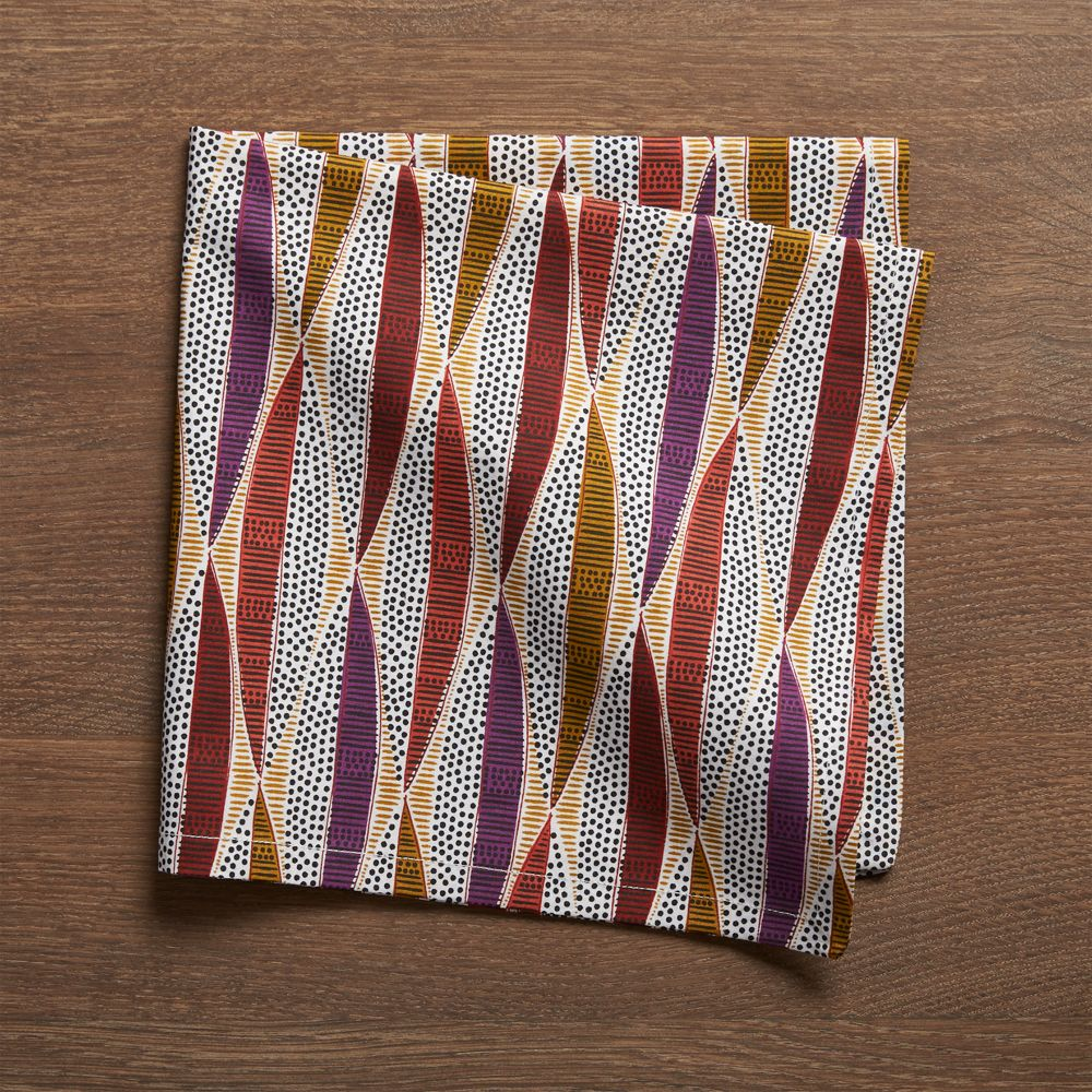Calisto Cloth Dinner Napkin - Crate and Barrel