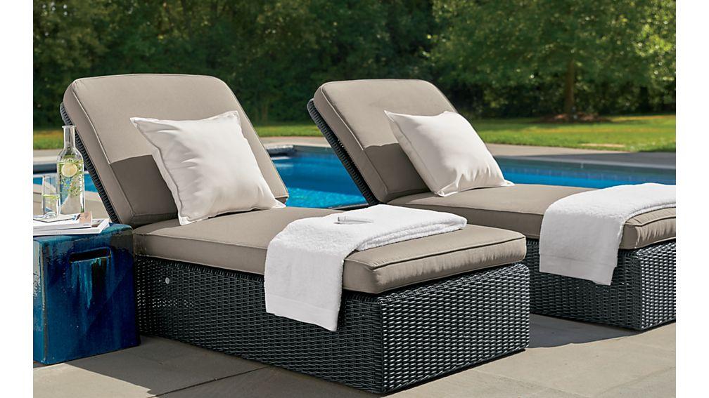 Calistoga Chaise Lounge with Sunbrella ® Cushion