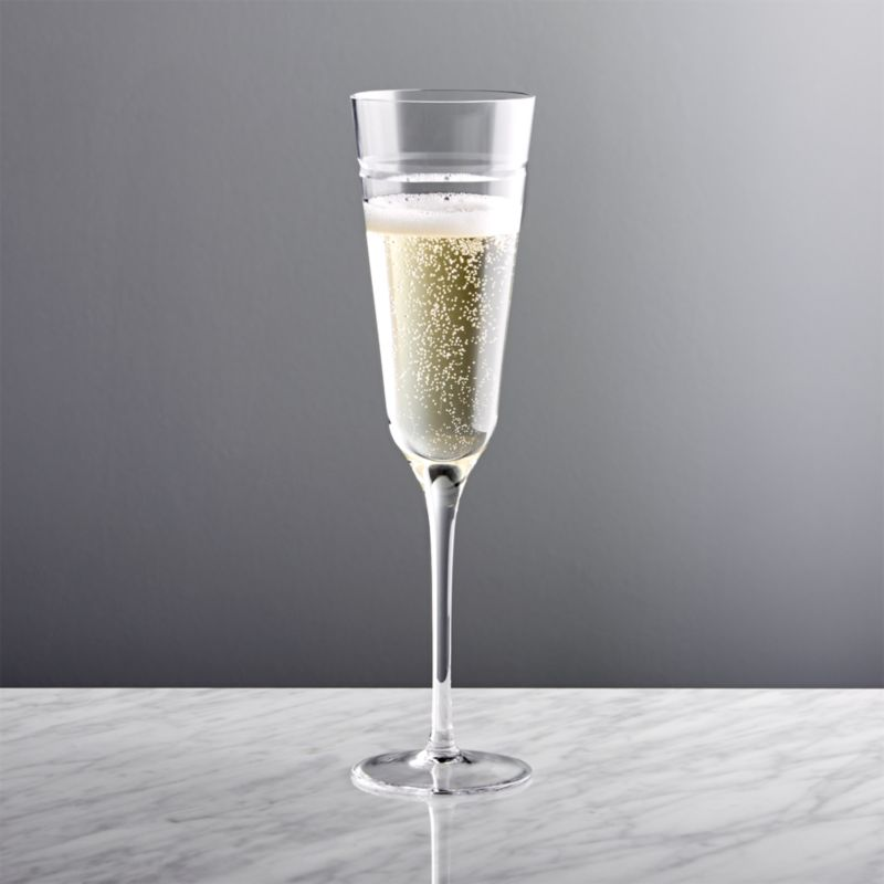 Elegant Champagne Flutes Crate And Barrel