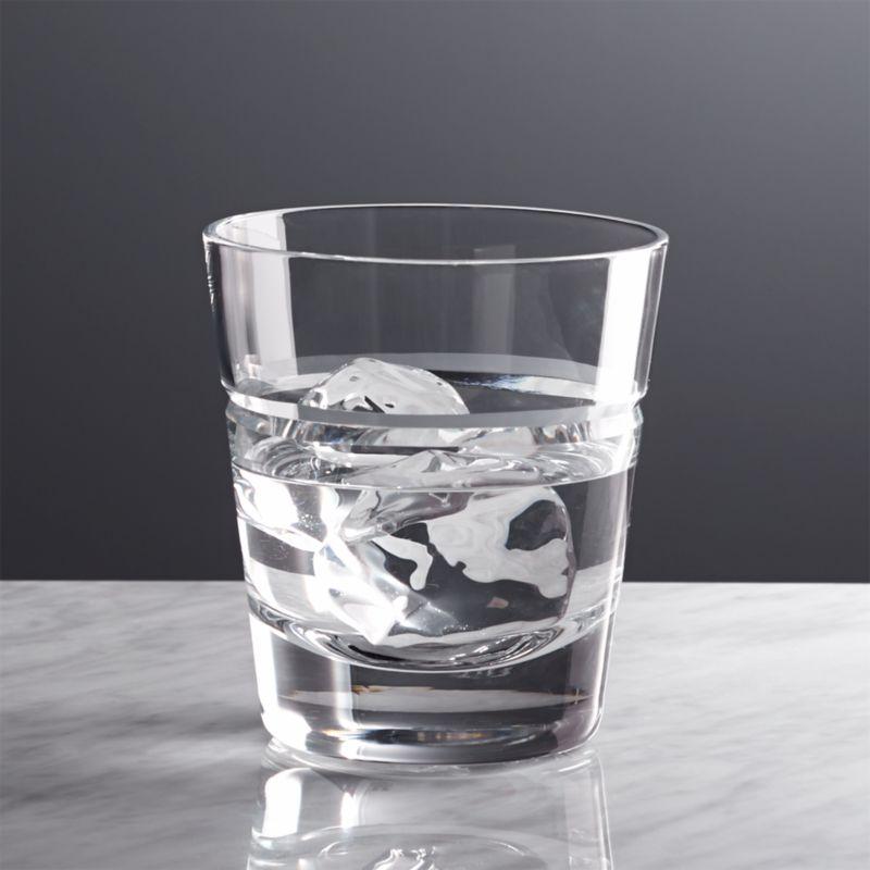 A single, dramatic V-cut distinguishes this sophisticated barware. Elegant simplicity, flared shapes in hand-cut glass. Classic yet contemporary.<br /><br /><NEWTAG/><ul><li>Handmade and handcut</li><li>14 oz.</li><li>Hand washing recommended</li><li>Made in Poland</li></ul>