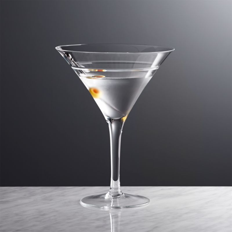 callaway martini glass in martini glasses reviews crate and barrel. Black Bedroom Furniture Sets. Home Design Ideas