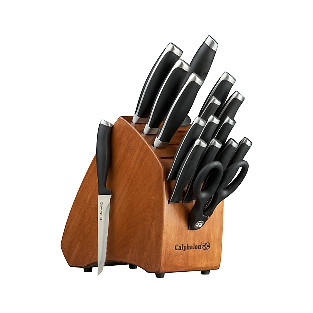 Calphalon Contemporary 17 Piece Knife Block Set Reviews