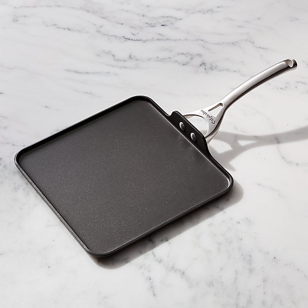 Square Nonstick Calphalon Griddle Reviews Crate And Barrel