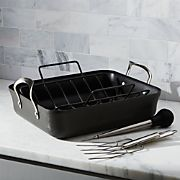 Calphalon Contemporary ™ Non-Stick Roaster with Lifters and Baster