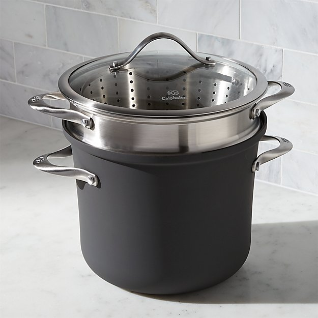 Calphalon Contemporary ™ Non-Stick 8 qt. Multipot with Lid