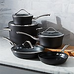 "Calphalon Contemporary â""¢ Non-Stick 9-Piece Cookware Set with Bonus"