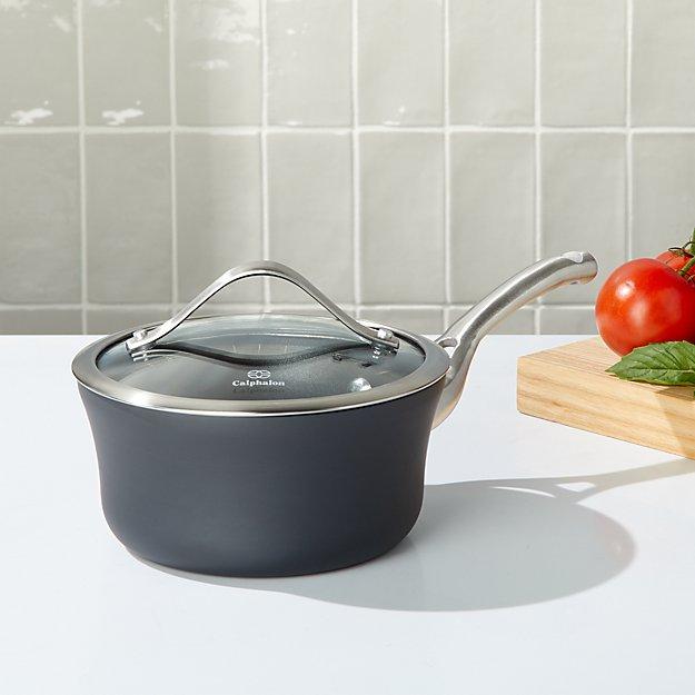 Calphalon ® 1.5-Qt.Contemporary Non-Stick Saucepan with Lid - Image 1 of 2