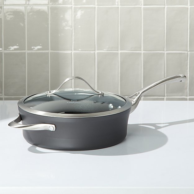 Calphalon ® 3-Qt. Contemporary Non-Stick Sauté Pan with Lid - Image 1 of 2