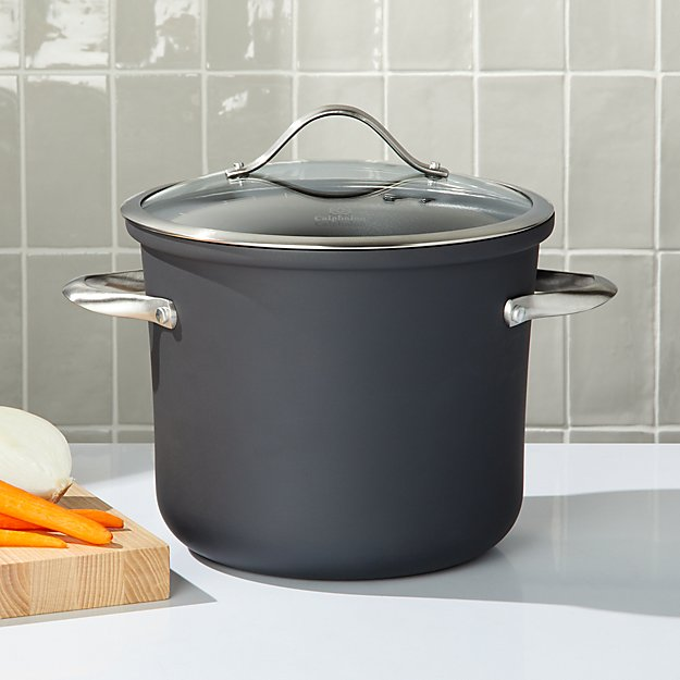 Calphalon ® 8-Qt. Contemporary Non-Stick Stockpot with Lid - Image 1 of 2
