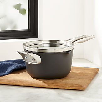 Calphalon ® Stackable 3.5-Qt. Pour and Strain Saucepan