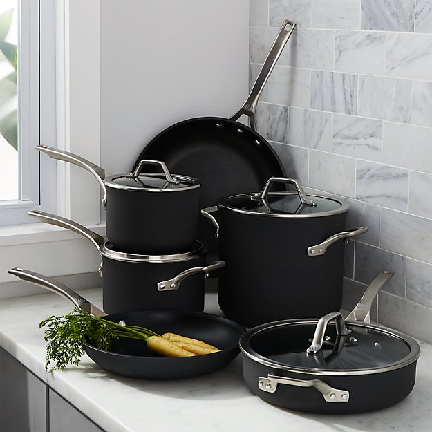 Calphalon Signature Non-Stick 10-Piece Cookware Set with Bonus - Image 1 of 4
