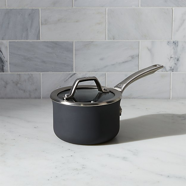 Calphalon Signature Non-Stick 1-qt. Saucepan with Lid - Image 1 of 2