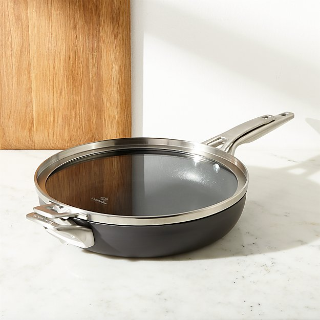 """Calphalon ® Stackable 12"""" Fry Pan with Cover - Image 1 of 3"""