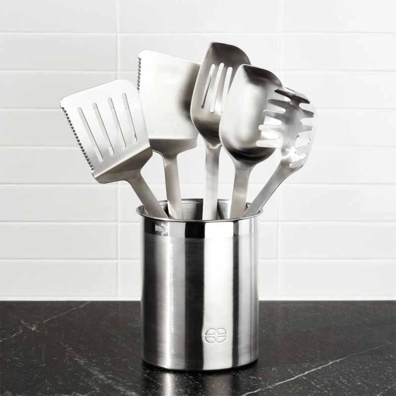 Calphalon Stainless Steel Kitchen Utensil Set 6 P
