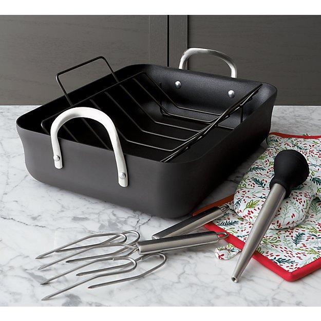Non Stick Calphalon Roasting Pan In Roasters Amp Lasagna