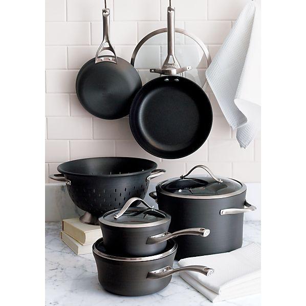 Calphalon Contemporary Non Stick 9 Piece Cookware Set With Bonus
