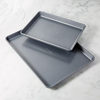 "Calphalon Nonstick 12"" x 17"" Jelly Roll Pans, Set of 2"