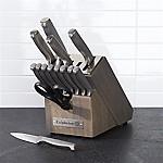 Calphalon Stainless Steel 15-Piece Knife Block Set with SharpIN™ Technology