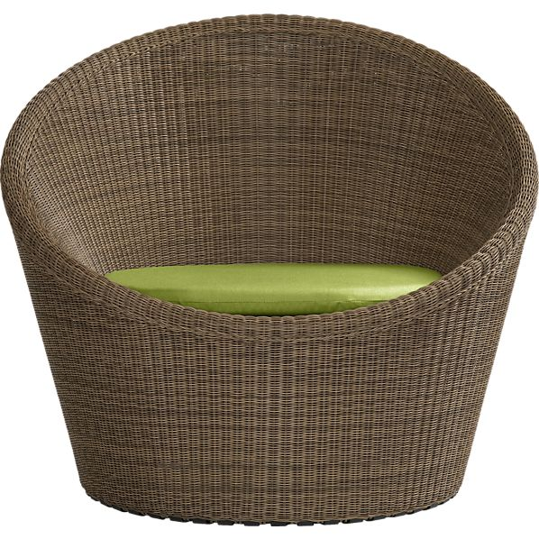 Calypso Swivel Lounge Chair with Sunbrella ® Kiwi Cushion