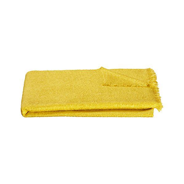 Cambria Yellow Throw