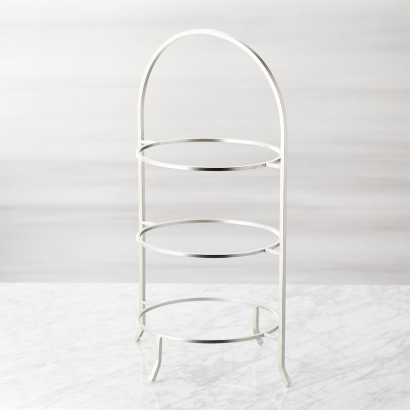 Incredible Cambridge Satin Nickel 3 Tier Stand Beutiful Home Inspiration Cosmmahrainfo