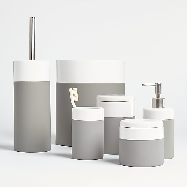 Camden Ceramic Bath Accessories - Image 1 of 3