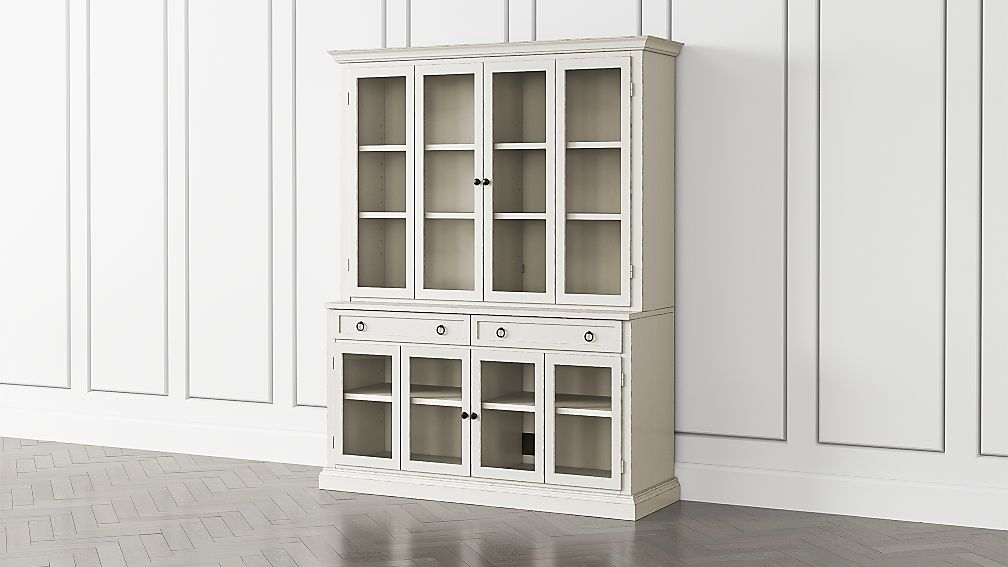 Cameo Dama 2-Piece Entertainment Center with Glass Door - Image 1 of 5