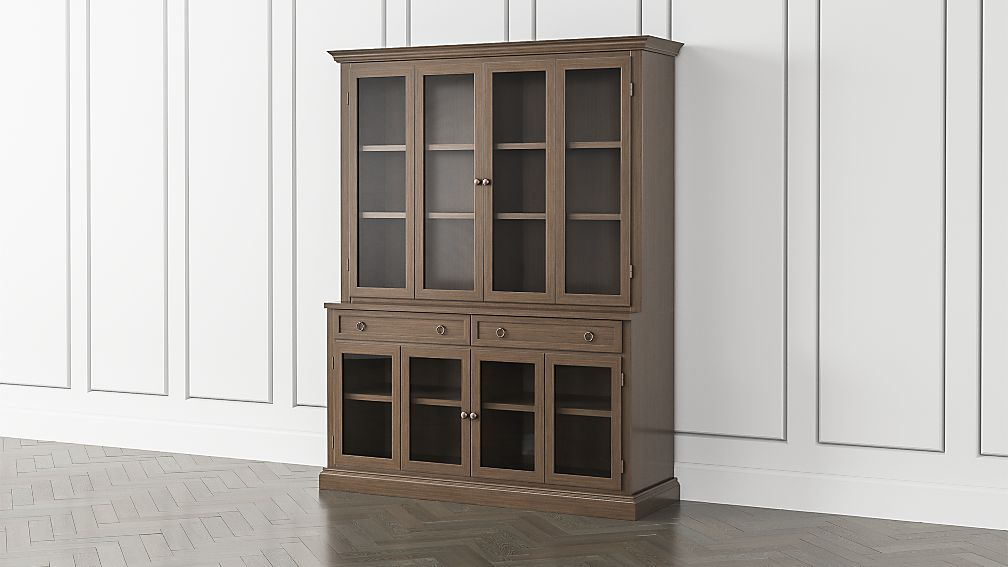 Cameo Pinot Lancaster 2-Piece Entertainment Center with Glass Door - Image 1 of 5